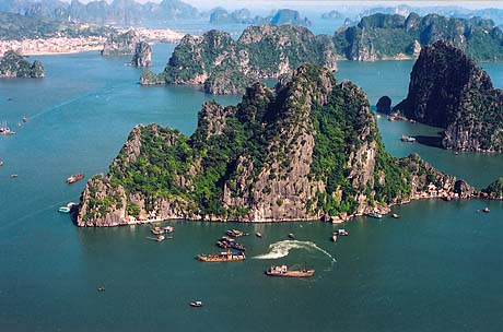 Halong Bay- One of Vietnam's two world natural heritages recognized by UNESCO
