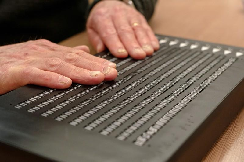 Braille technology firm builds 'Kindle for the blind' - Sci
